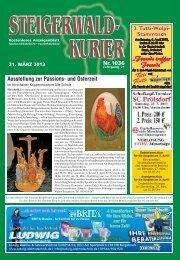 Ausgabe 1036 - Steigerwald-Kurier