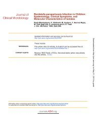 Bordetella parapertussis Infection in Children - Journal of Clinical ...