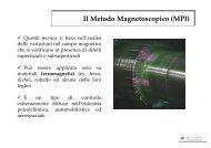Il Metodo Magnetoscopico (MPI) - Dimeca