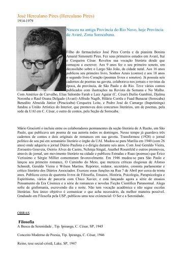 biografia - Sociedade Espírita Caminho de Damasco
