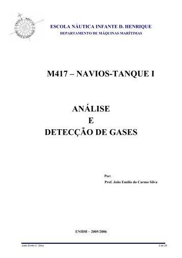 análise e medição de gases - ENIDH