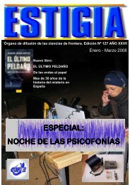 especial - Revista Digital Estigia