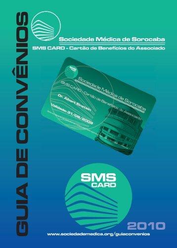 Guia de Convenios da Sociedade Médica de Sorocaba em PDF