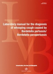 Laboratory manual for the diagnosis of whooping cough caused by ...
