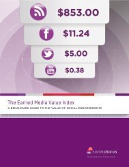 The Earned Media Value Index