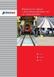 Produits pour l'environnement et le transport - BTE Stelcon ...