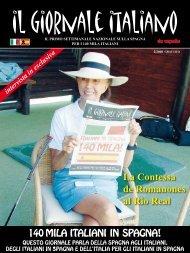 La Contessa de Romanones al Rio Real - Il Giornale Italiano