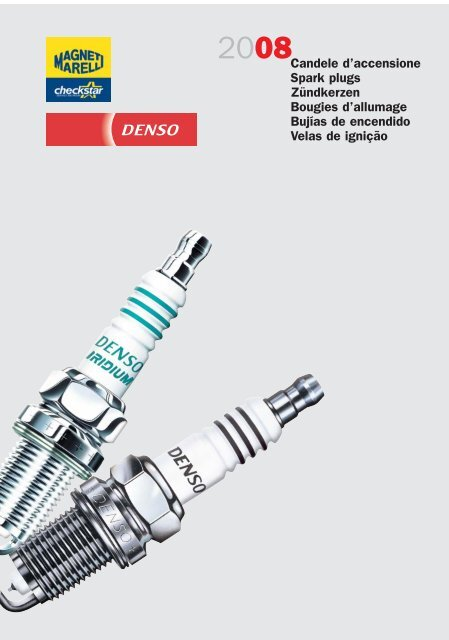 X3 Spark Plugs per VW Polo IV 1.2 01 /> 09 BMD Benzina 9N 54 60 64 69 DENSO