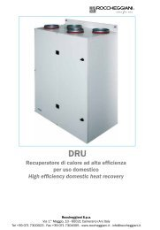High efficiency domestic heat recovery