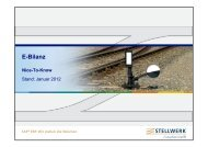 E-Bilanz - Stellwerk Consulting GmbH
