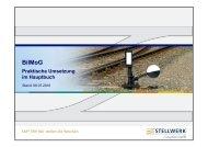 BilMoG - Stellwerk Consulting GmbH