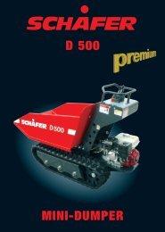 D 500 MINI-DUMPER