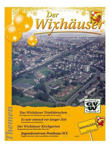 Der Wixhäuser - Gewerbeverein Wixhausen