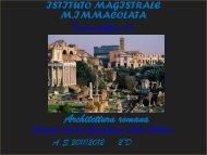 Presentazione Arte romana - Istituto Magistrale