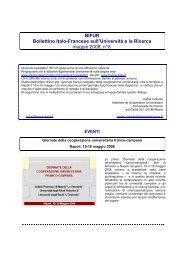 Maggio 2008 - La France en Italie