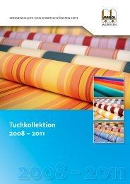 Tuchkollektion 2008 ? 2011