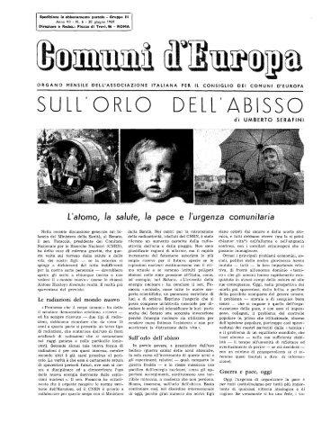 Anno VII Numero 6 - Renato Serafini