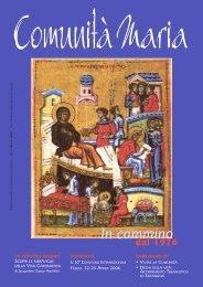In cammino - Associazione Comunità Maria - Rinnovamento ...