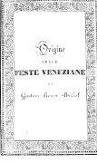 Origine delle feste veneziane - Page 5