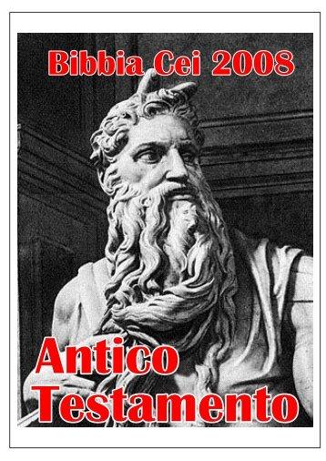 Bibbia Cei 2008, Antico Testamento