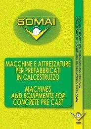 macchine e attrezzature per prefabbricati in calcestruzzo machines ...