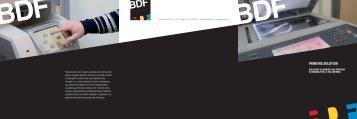 Scarica brochure - Gruppo BDF