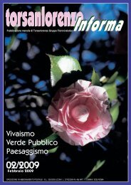 Vivaismo Verde Pubblico Paesaggismo - Torsanlorenzo Gruppo ...