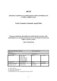 Rassegna, finalizzata alla applicazione della ... - ARPA Umbria