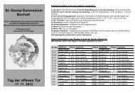 Infoblatt 2012 - St.-Georg-Gymnasium Bocholt
