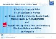 Pflegebericht im Krankenhaus - Stift Bethlehem Ludwigslust