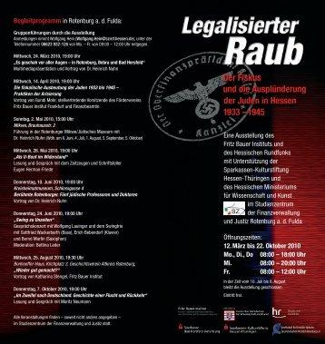 Einladung Rotenburg a d F.indd - Stiftung Adam von Trott