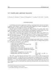 VI.7. NEOPLASIE LARINGEE MALIGNE - AOOI