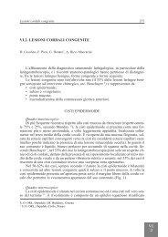 VI.2. LESIONI CORDALI CONGENITE - AOOI