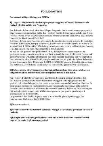 """FOGLIO NOTIZIE - Istituto Comprensivo """"Via Casal Bianco"""""""