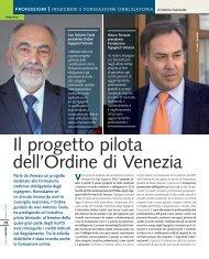 il progetto pilota dell'Ordine degli - Stefanocianciotta.it
