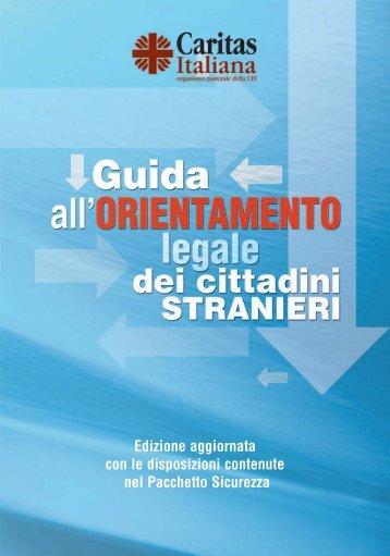 Guida all'orientamento legale dei cittadini stranieri - Caritas Italiana