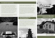 Sandbostel Prisoner-of-War Camp Museum and Memorial