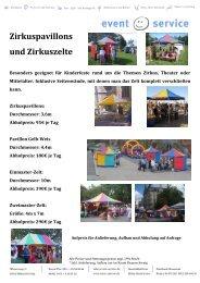 Zelte - event-service