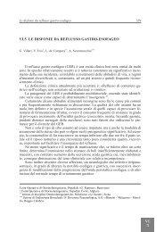 VI.5. LE DISFONIE DA REFLUSSO GASTRO-ESOFAGEO - AOOI
