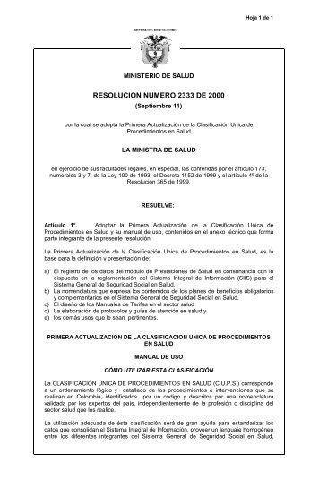 Resolución 2333 2000..