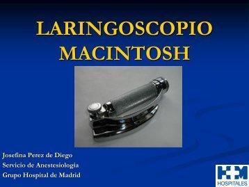 LARINGOSCOPIO MACINTOSH