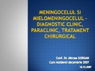 diagnostic clinic, paraclinic, tratament chirurgical