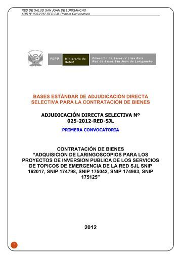 Bases ADS-025-2012-Laringoscopio - seace