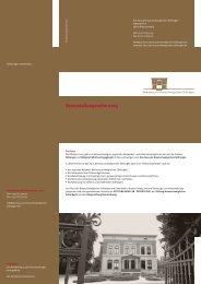 Veranstaltungsreihe 2013 - Stiftung Nord/LB Öffentliche