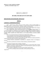 ROF Spital Clinic Judetean Mures 2013.pdf - Spitalul Clinic ...