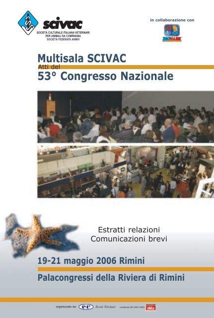 53 Congresso Nazionale Multisala Scivac Rimini 19 21 Maggio