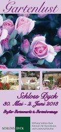 [PDF] Gartenlust 2013 WEB - Schloss Dyck