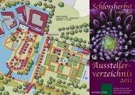 Aussteller- verzeichnis - Schloss Dyck