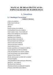 manual de boas práticas da especialidade de radiologia
