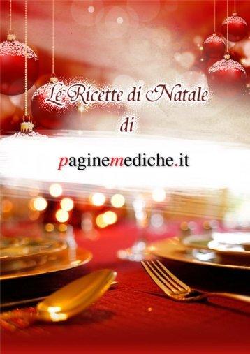 Ricette Di Natale - Paginemediche.it